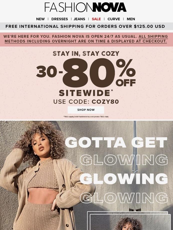 Fashion Nova Email Us 26 Mar 2020