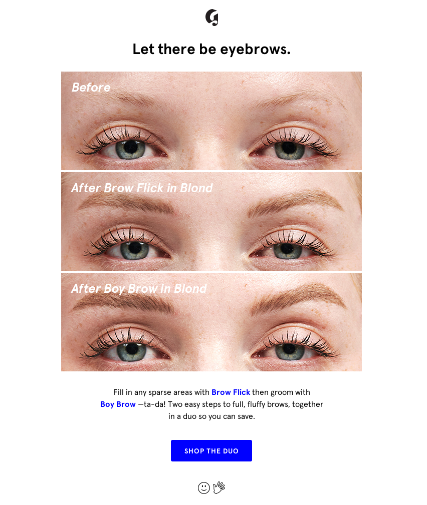Glossier Email Us 27 May 2020