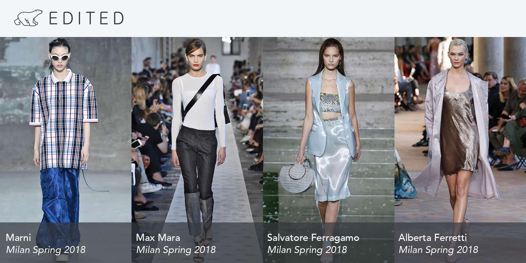 Milan Spring 2018 trends