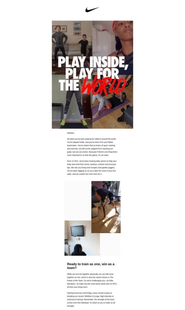 Nike Uk Email 29 Mar 2020 1