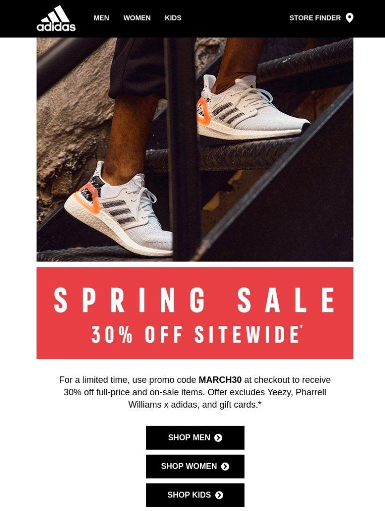 Adidas Email Us 21 Mar 2020