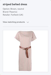 product matching