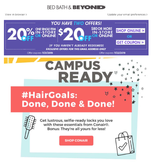 Back to School marketing