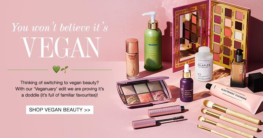Cult beauty vegan beauty edit